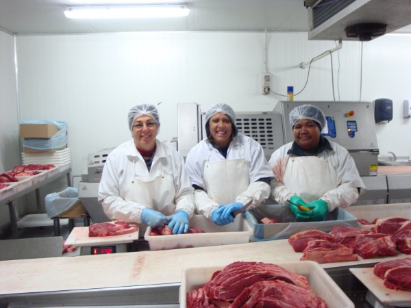 Processing at Fresco's Meats
